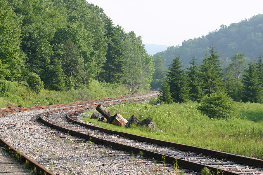 Horizontal Photograph - Old Mountain Railway by Christopher Purcell