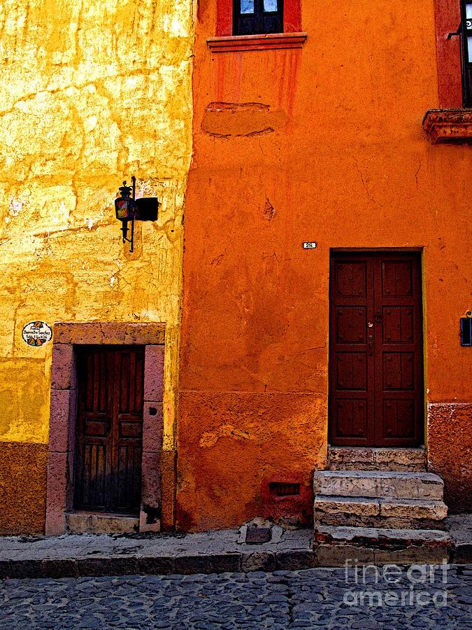 San Miguel De Allende Photograph - Old Neighbors by Mexicolors Art Photography