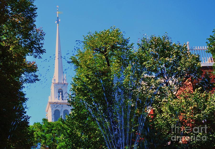 Old North Church, Boston # 3 Photograph by Marcus Dagan