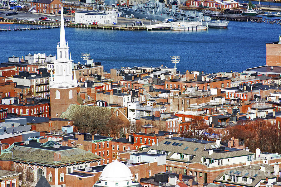 Old North Church Photograph - Old North Church by Ruth H Curtis