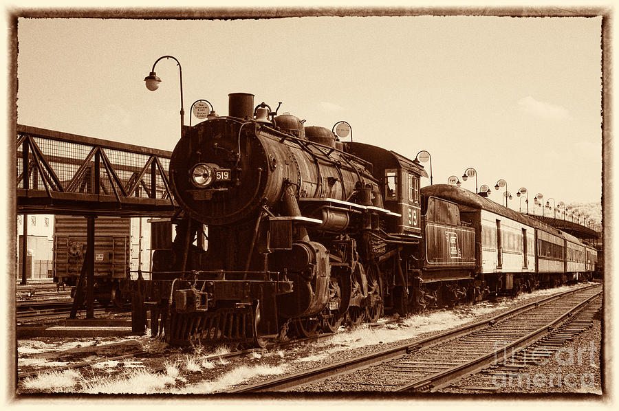 Historical Photograph - Old Number 519 by Paul W Faust -  Impressions of Light