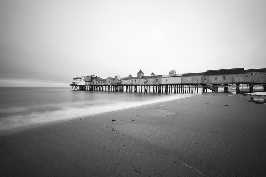 Old Orchard Beach Photograph - Old Orchard Beach Pier by Eric Gendron