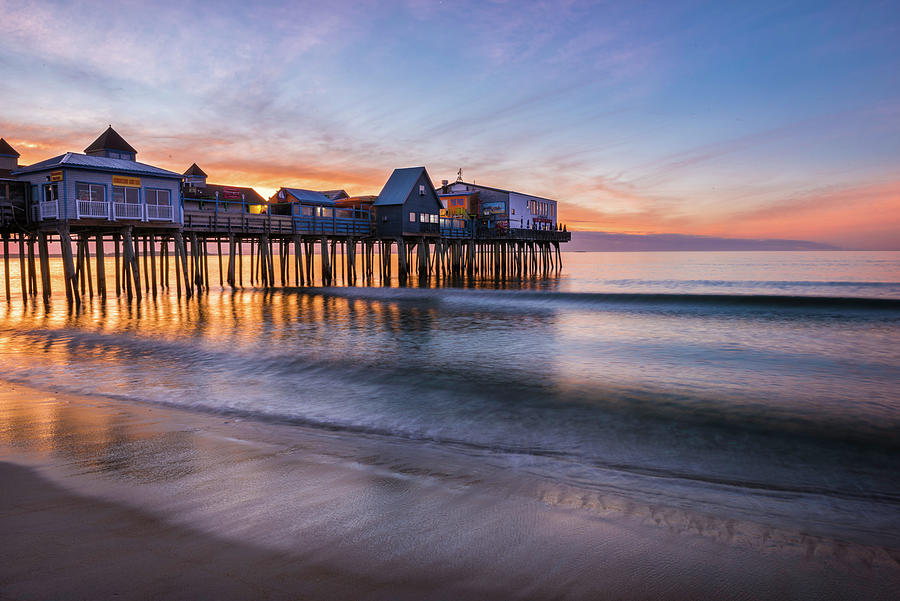 Old Orchard Beach by Expressive Landscapes Nature Photography