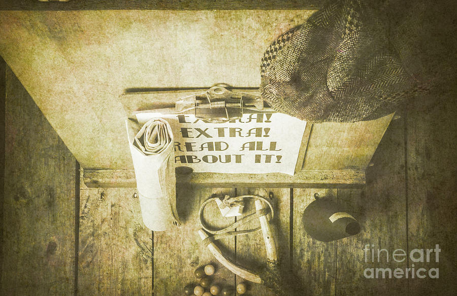 Old Paper Boy News Stand Photograph by Jorgo Photography - Wall Art ...