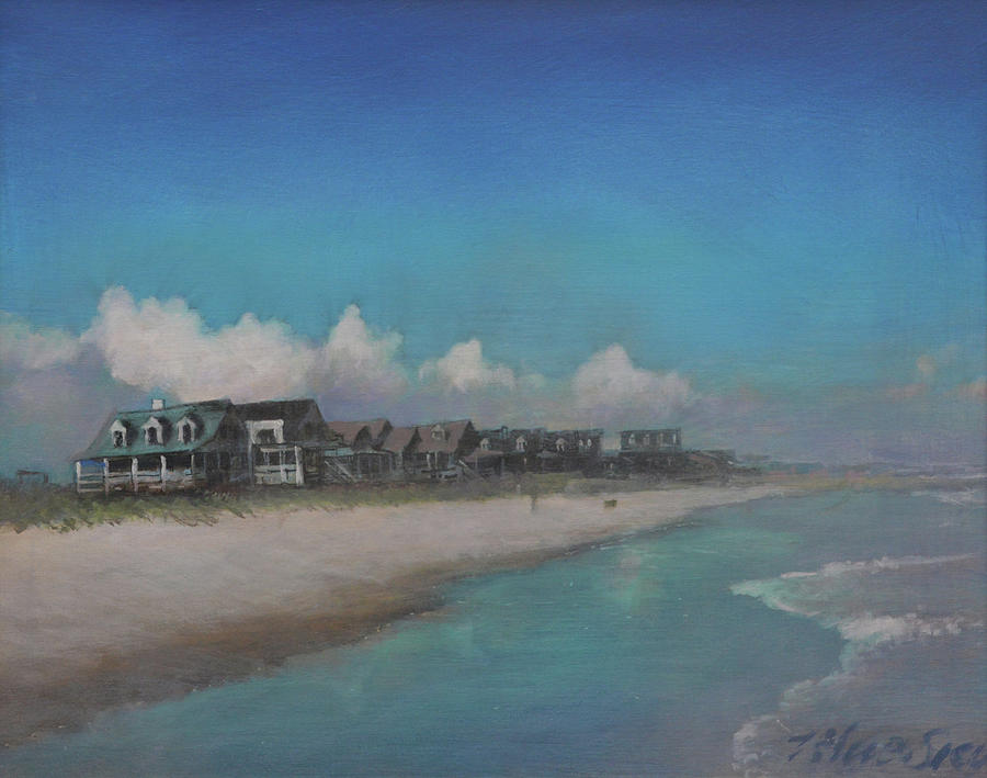 Pawley's Island Painting - Old Pawleys by Blue Sky