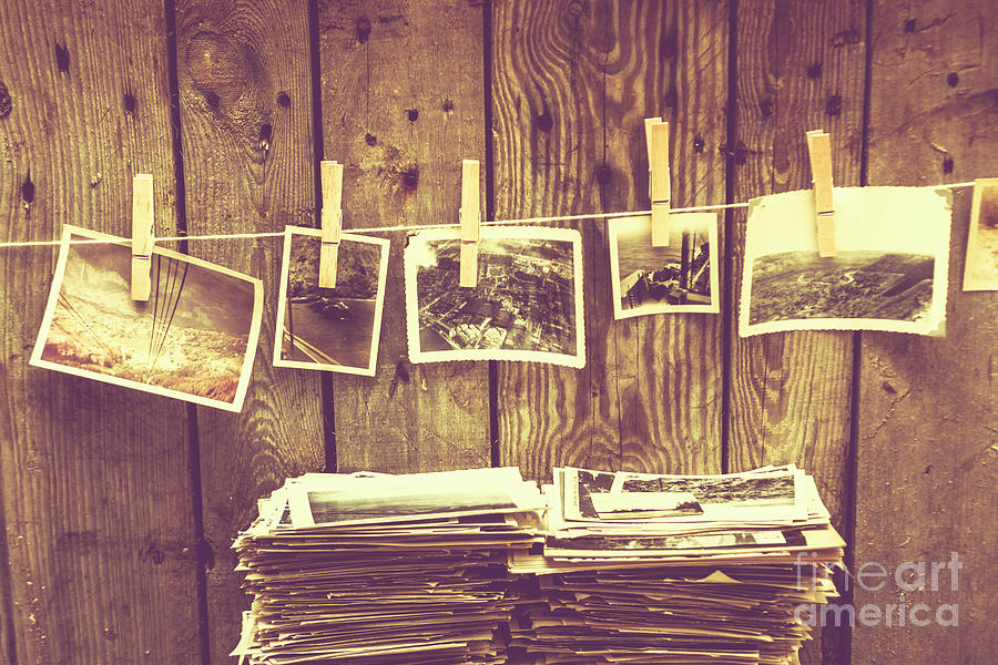Still-life Photograph - Old Photo Archive by Jorgo Photography - Wall Art Gallery