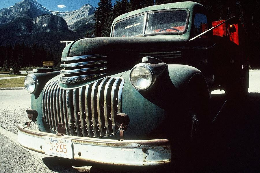Vintage Truck Photograph - Old Pickup by David RedHawk