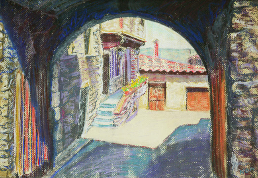 House Pastel - Old Porch by Aymeric NOA
