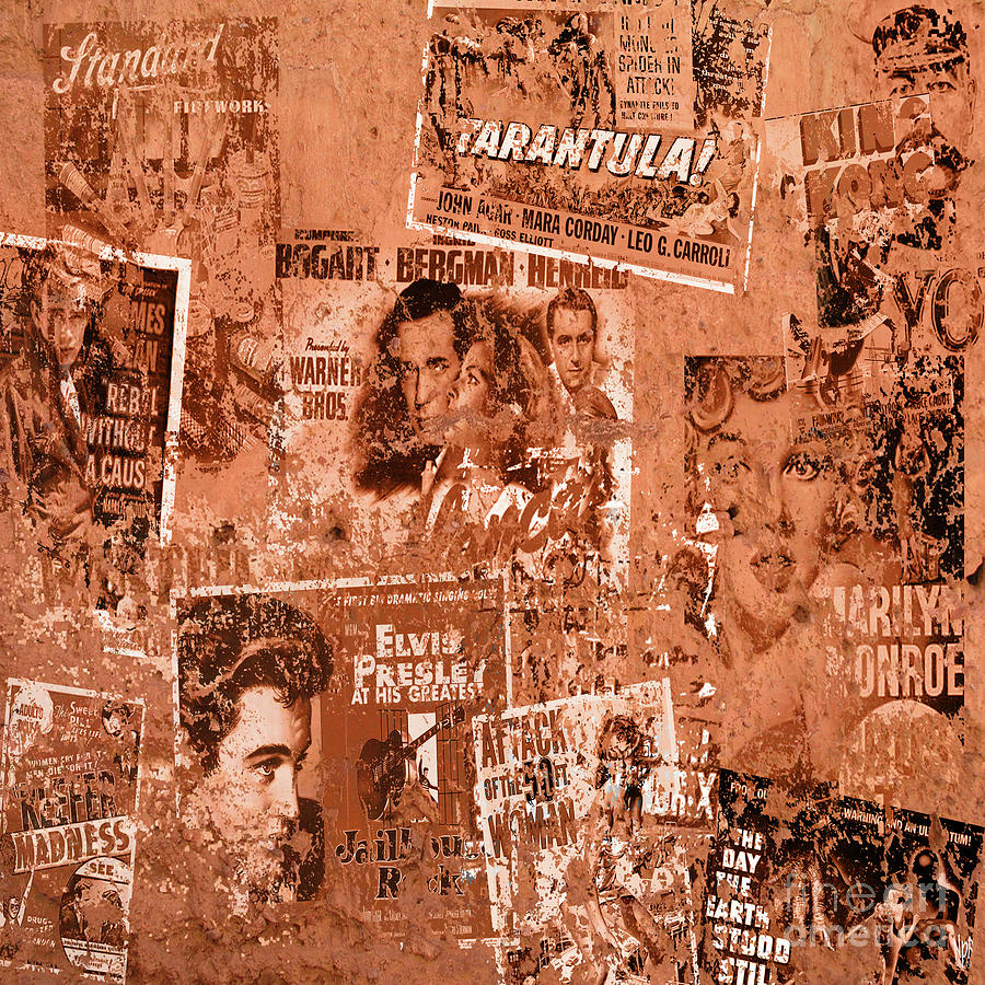 Old Poster Wall By Neil Finnemore