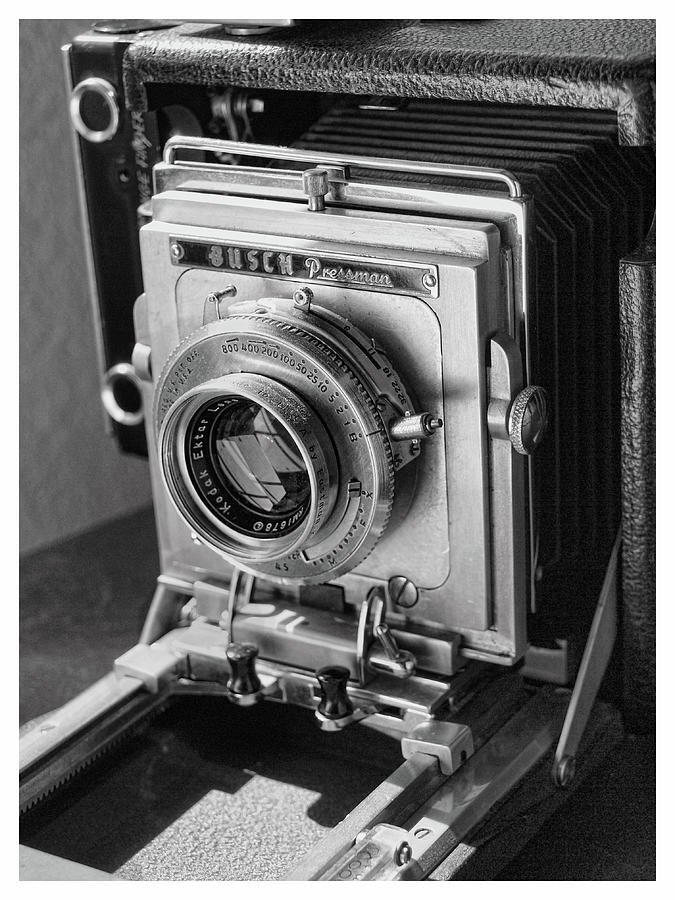 Old Press Camera by Gary De Capua
