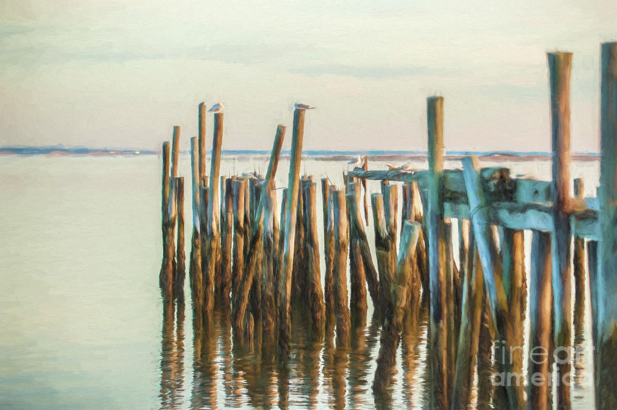 Old Provincetown Wharf by Michael James