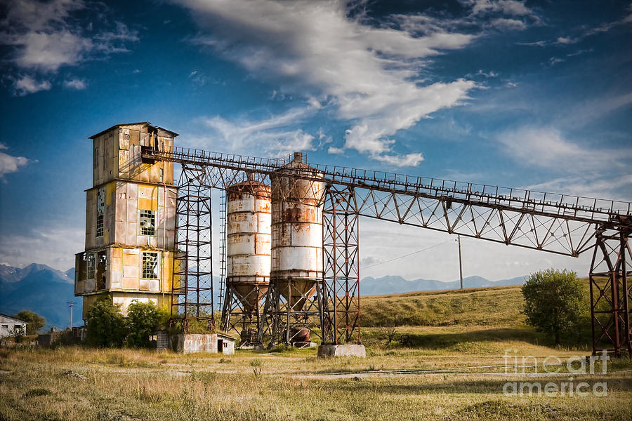 Quarry Photograph - Old Quarry by Gabriela Insuratelu