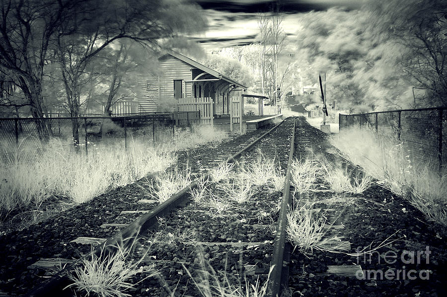 Landscape Photograph - Old Railway Station  by Gwenda  Harvey