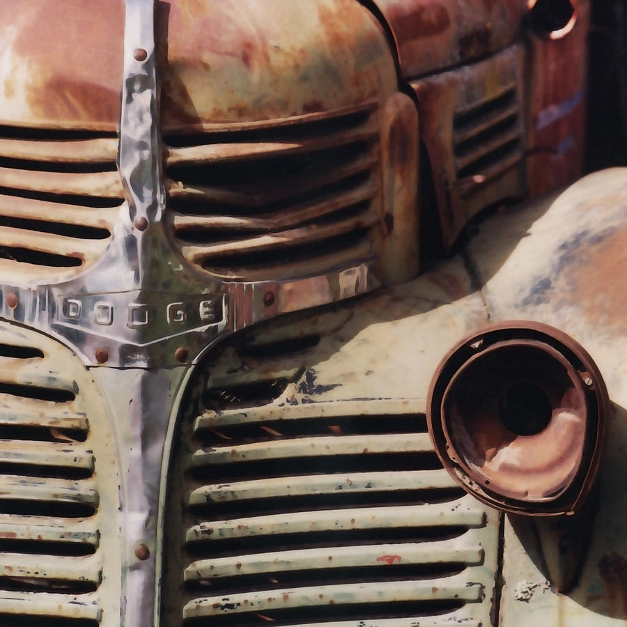 Nipomo Photograph - Old Ranch Truck by Art Block Collections