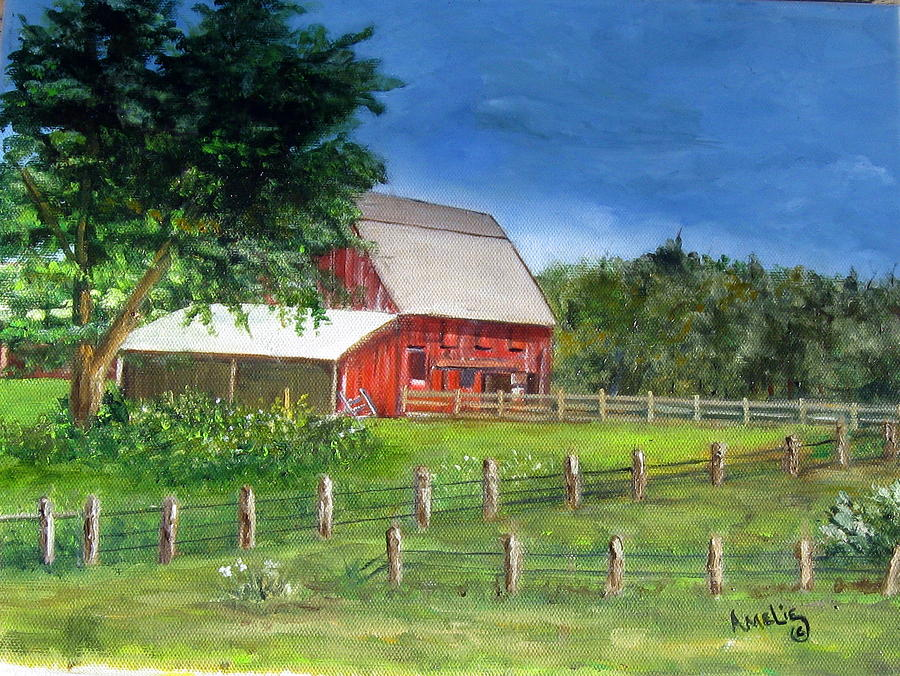 Paint Old Red Barn