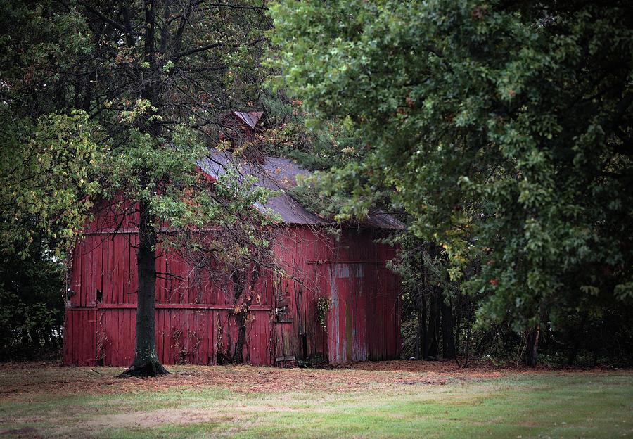 Old Red Barn Photograph by Scott Fracasso