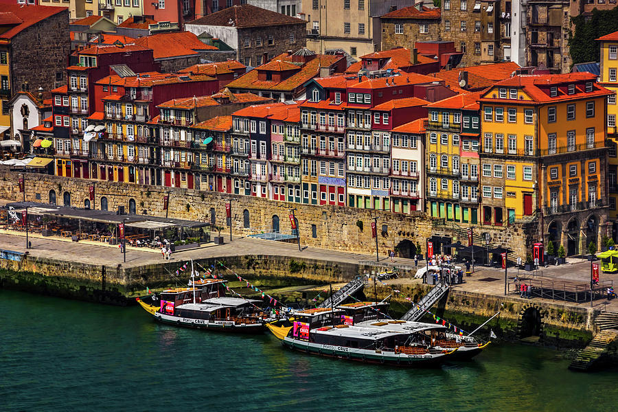Old Ribeira Porto Photograph By Carol Japp