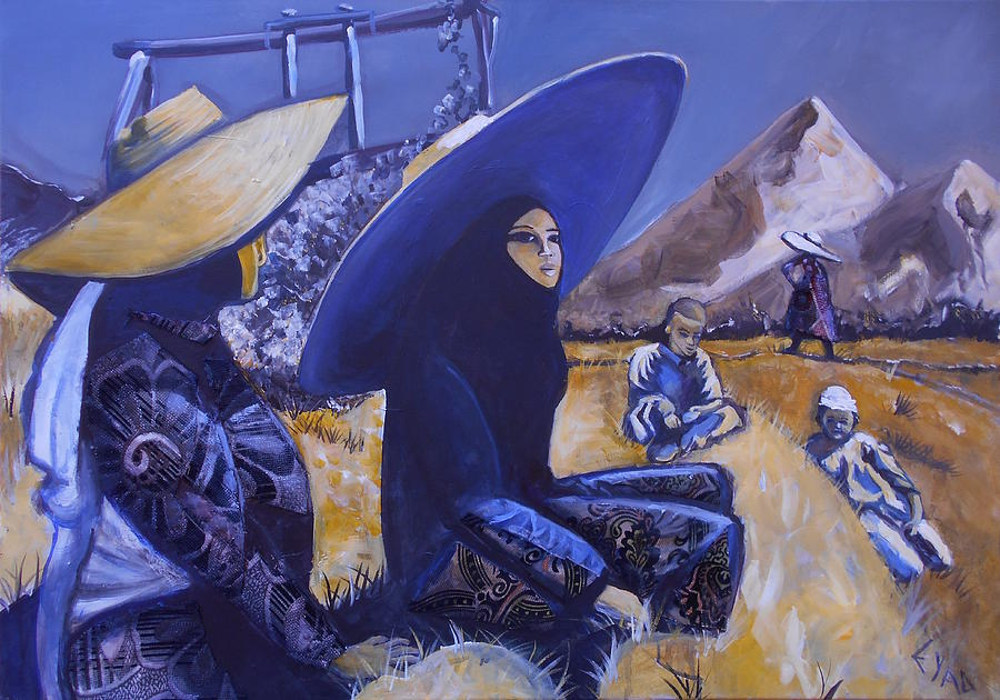 Old Riyadh Painting by Eric Shelton