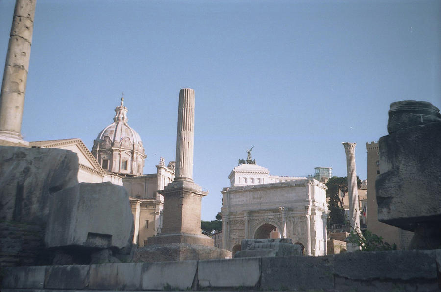 Old Rome Photograph - Old Rome by Nacho Vega