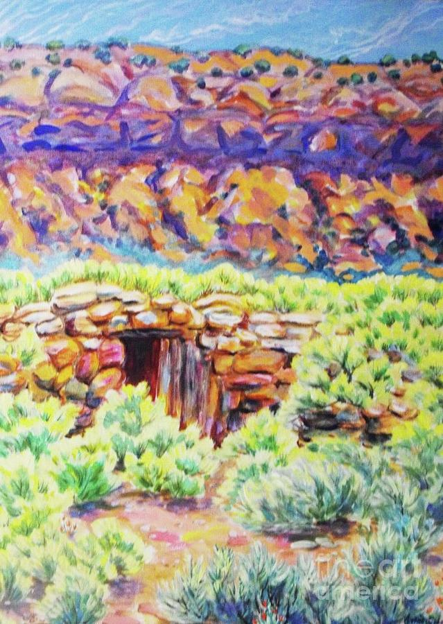 Old Root Cellar by Annie Gibbons
