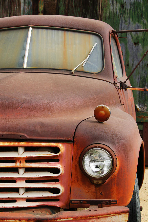 Old Rusty Truck Photograph by Art Block Collections