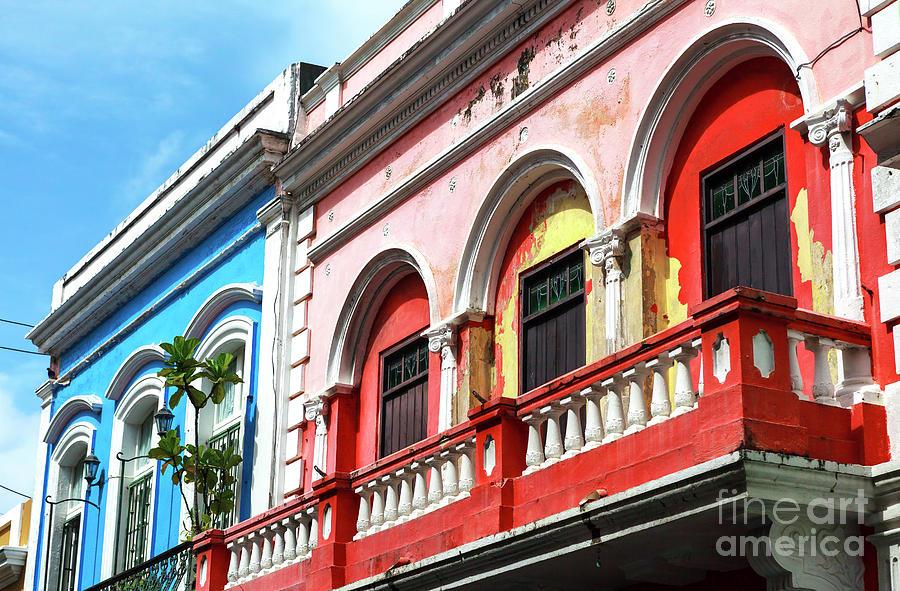 San Juan Architecture Photograph - Old San Juan Balcony by John Rizzuto