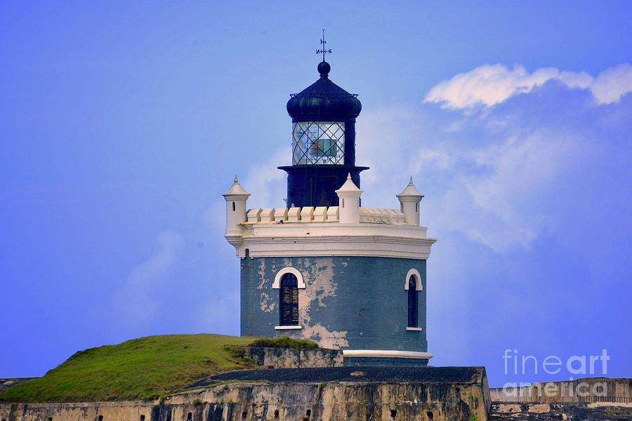 Old San Juan Light by Buddy Morrison