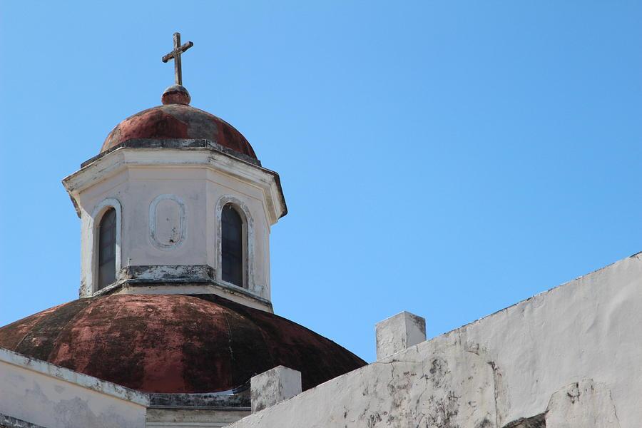 Old San Juan Puerto Rico Downtown Church Photograph by Robert Smith