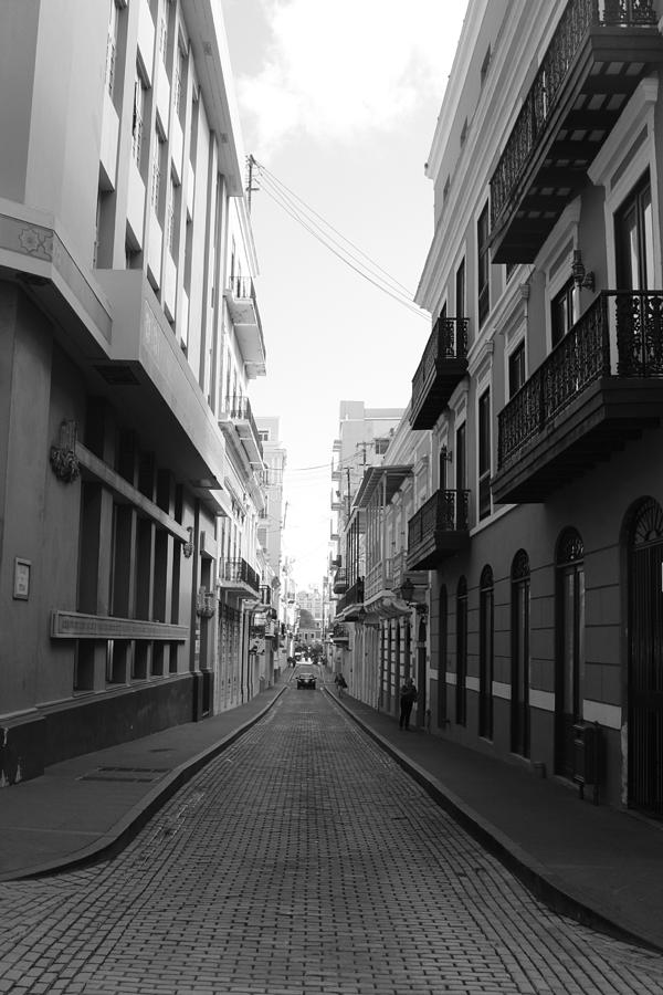 Old San Juan Puerto Rico Downtown On The Street Photograph by Robert Smith