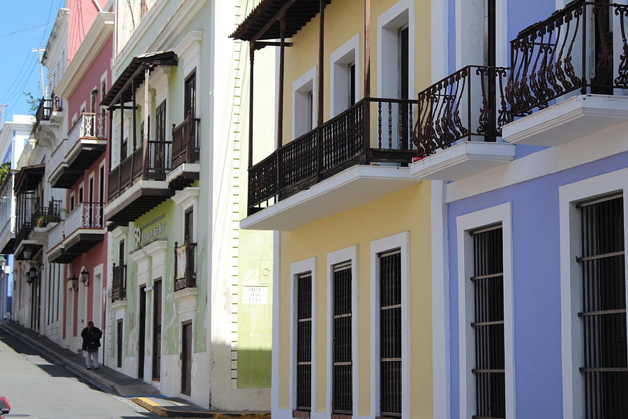 Old San Juan Puerto Rico Downtown  Photograph by Robert Smith