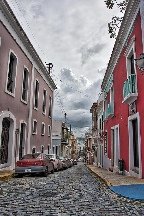 Old San Juan Wall Decor : Old san juan street photograph by rafael gonzalez
