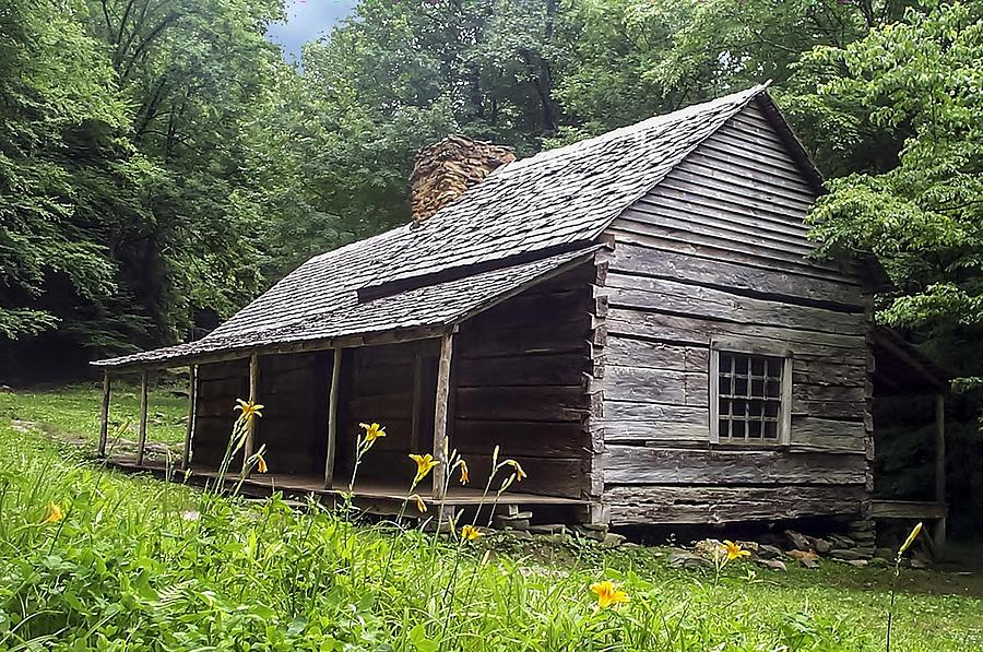 Merveilleux Settlers Photograph   Old Settlers Cabin Smoky Mountains National Park By  NaturesPix