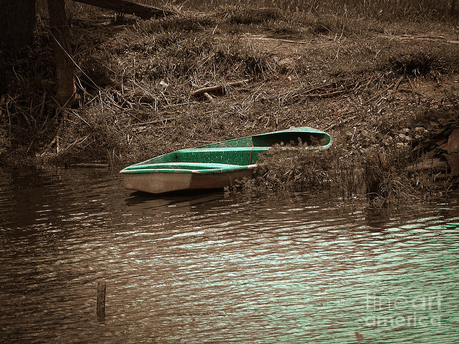 Old Skiff by Camille Pascoe
