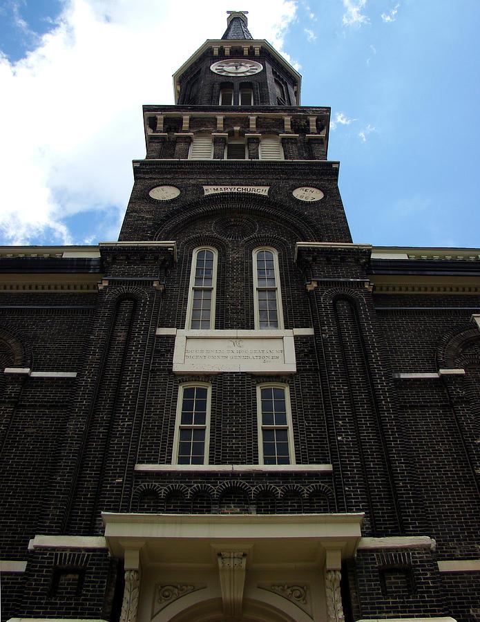 Church Photograph - Old St. Marys Church 3 by Todd Zabel