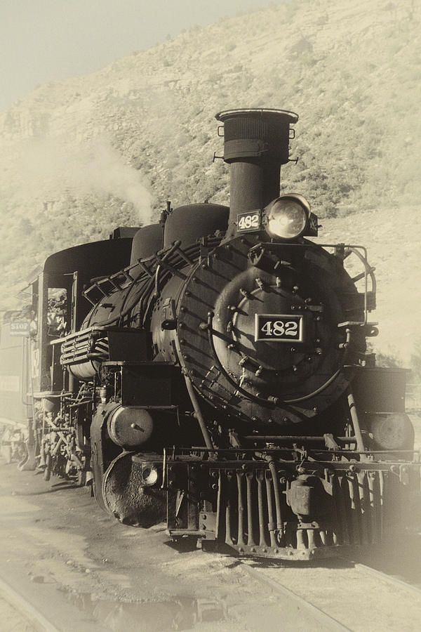 old steam locomotive photograph by george oze railroad tracks clip art for a map railroad track clipart