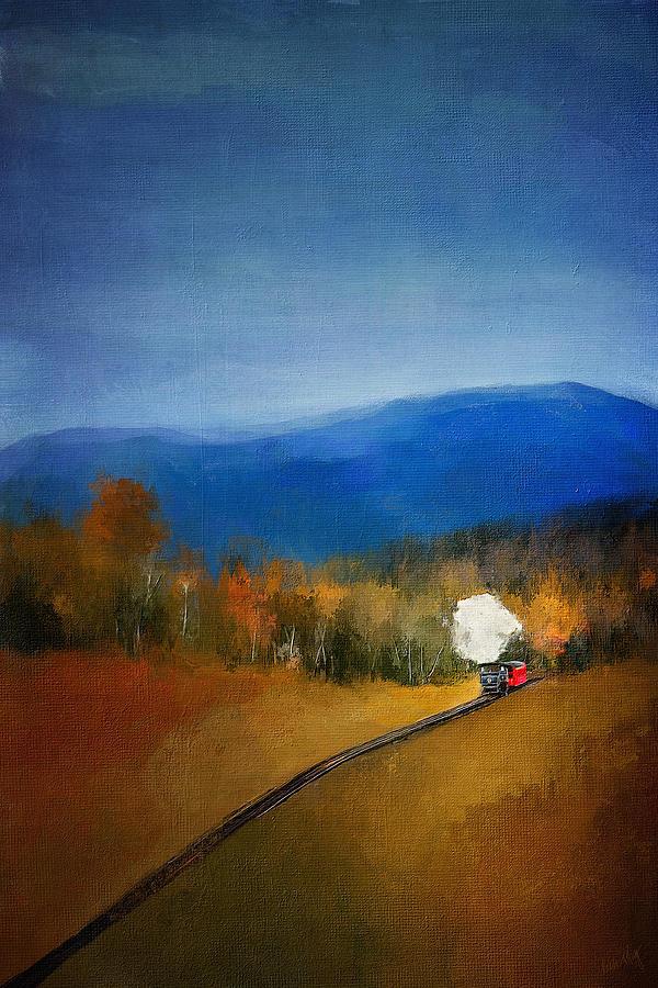 Old Steam Train 4157 Digital Art