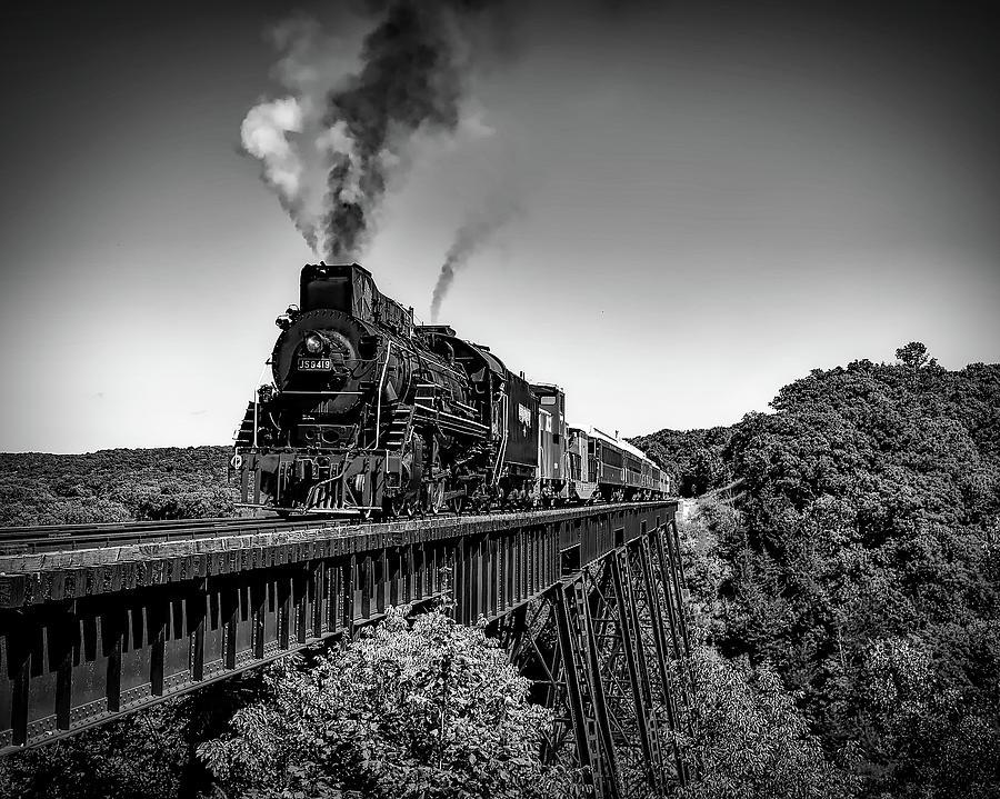 Old Steam Train by Roy Pedersen
