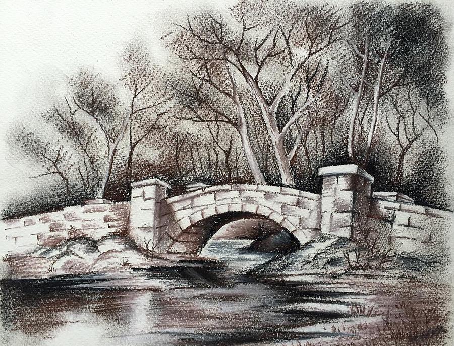 фото сверху графические картинки каменных мостов раскрывает