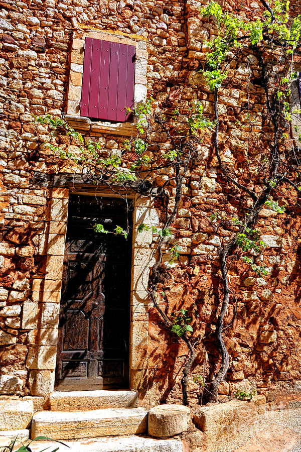 Provence Photograph - Old Stone House In Provence by Olivier Le Queinec
