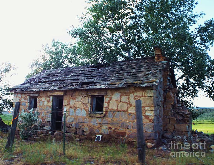 Old Stone House by Julie Rauscher