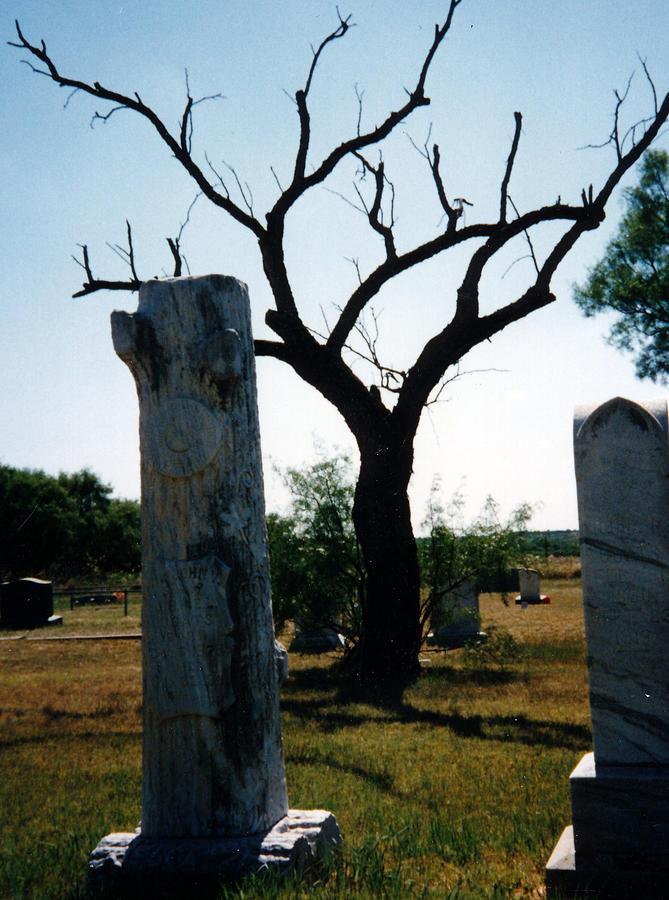 Old Stones In Old Cementery Photograph by Cindy New