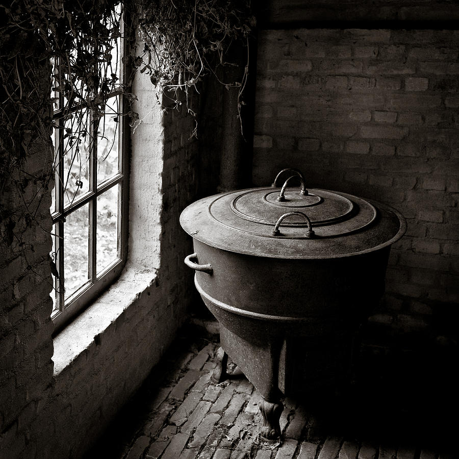 Old Photograph - Old Stove by Dave Bowman