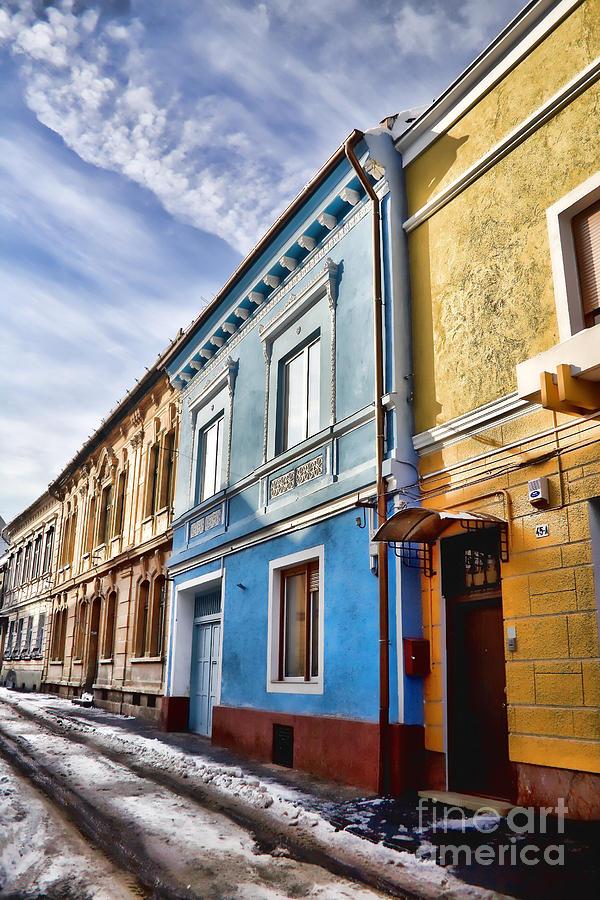 Brasov Photograph - Old Streets by Gabriela Insuratelu