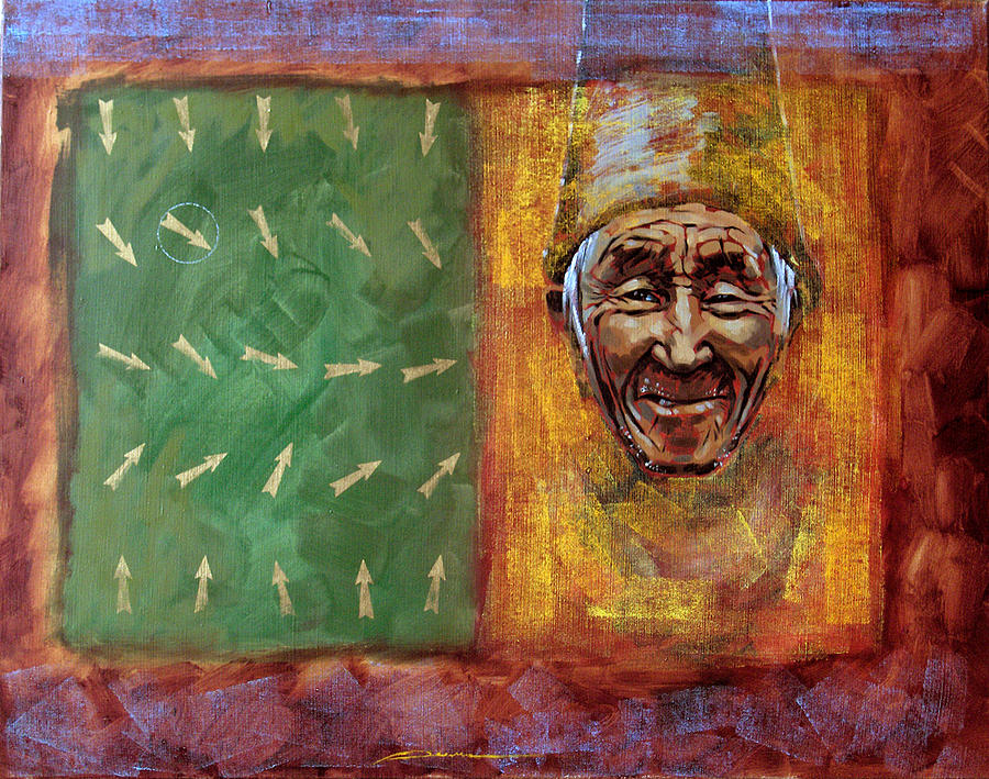 Old Sufi Painting by Dmitrij Pljonkin