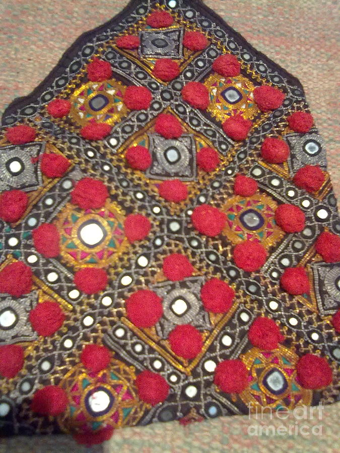 Old Textile Tapestry - Textile by Dinesh Rathi