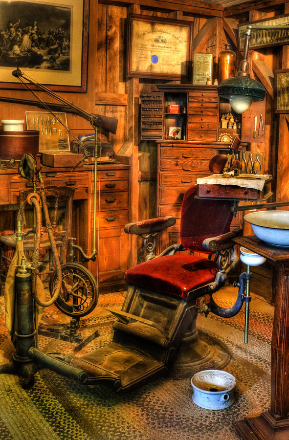 Old Time Dentist Office Dentistry Surgery Ii