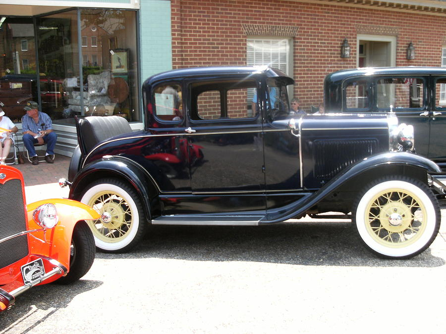Old Timey Shined And Ready To Roll Photograph by Anne-Elizabeth Whiteway