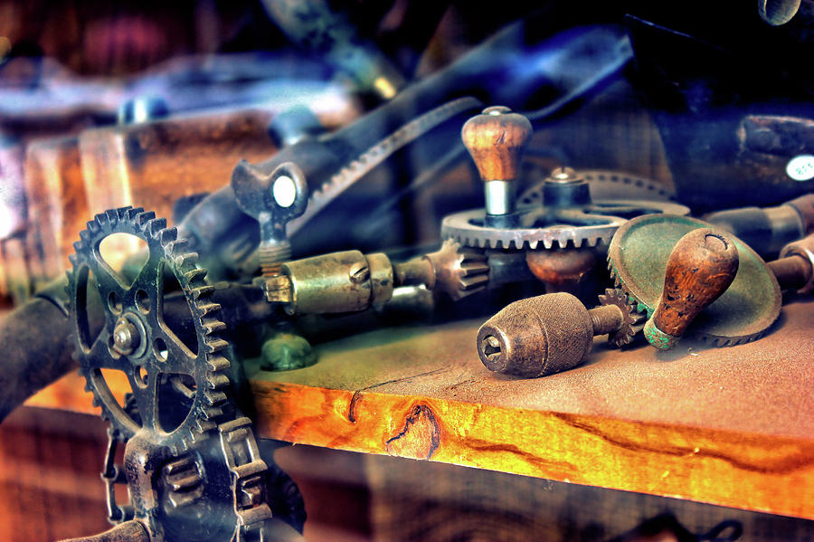 Old Tools One by Morgan Carter
