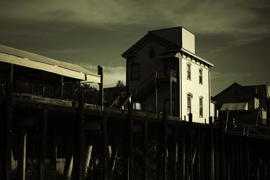 Sacramento Photograph - Old Town Sacramento California Cityscape by Christine Till