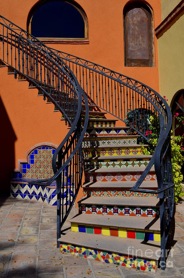 Old Town Scottsdale Stairway - 1 Photograph